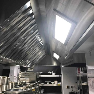 Ceiling lights fitted at Divino Enorteca