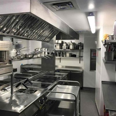 Kitchen fit out at Divino Enorteca