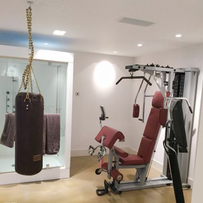 home gym lighting