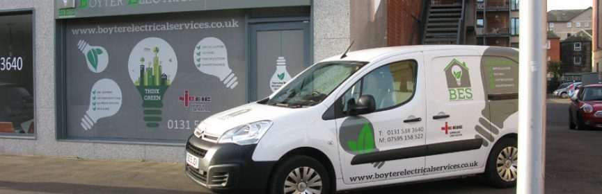 boyter electrical services shop edinburgh