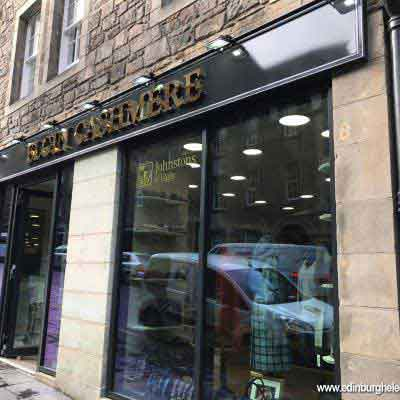 Elgin Cashmere Edinburgh exterior