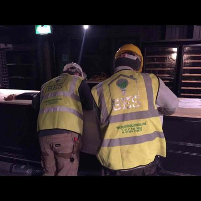 Boyter Engineers working in Edinburgh