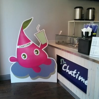 Chatime front counter