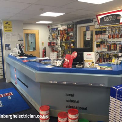 City Electrical counter install